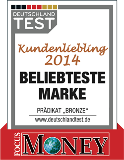 Test (Focus Money, Kundenliebling 2014)